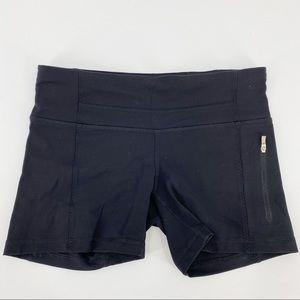 Lululemon short bike shorts black